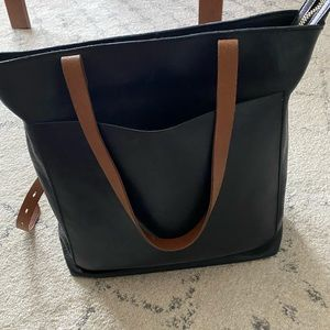 Madewell Medium Ziptop Transport Tote